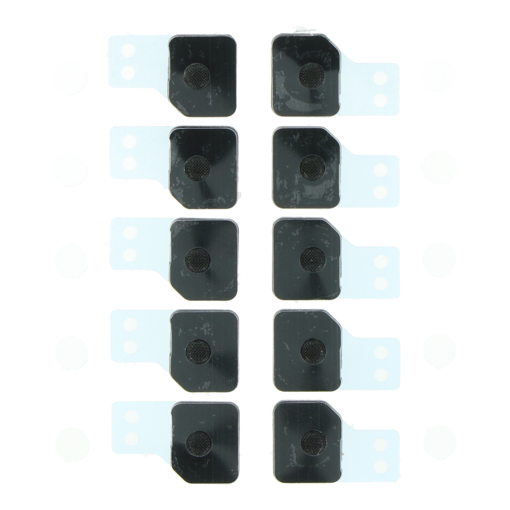 APPLE iPhone 11 Pro - Anti-dust mesh and frame for Battery Door Microphone 10pcs Black Original