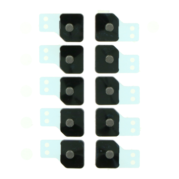 APPLE iPhone 11 Pro - Anti-dust mesh and frame for Battery Door Microphone 10pcs White Original