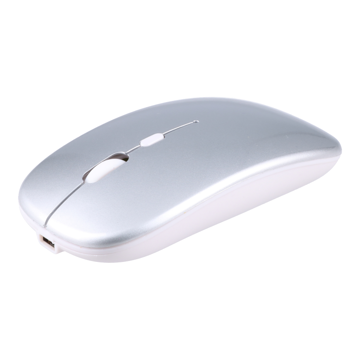 Silent Wireless Mouse 2.4G Silver