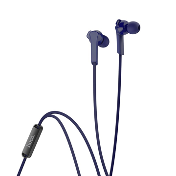 HOCO - M72 ADMIRE STEREO WIRED EARPHONES HANDS FREE BLUE