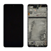 SAMSUNG M515 Galaxy M51 - LCD - Complete front + Touch Black Original