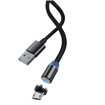 DEVIA Gracious Series magnetic harging Cable for MicroUSB Black (5V-2.1A)