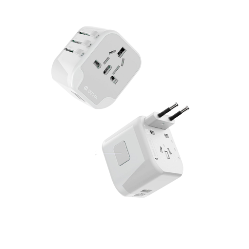 DEVIA Global multiple function charger White
