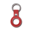 DEVIA AirTag Leather Key Ring Baltic Red