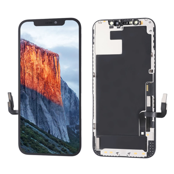 APPLE iPhone 12 / 12 Pro - LCD + Touch Black High Quality