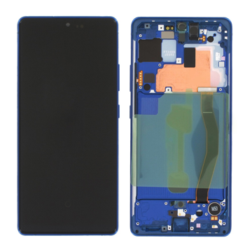 SAMSUNG G770F Galaxy S10 Lite - LCD + Touch Prism Blue Original Service Pack