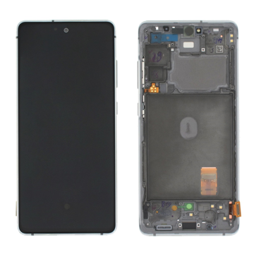 SAMSUNG G780F Galaxy S20 FE - LCD - Complete front LCD + Touch White Original Service Pack