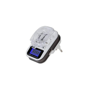 TRAVEL CHARGER UNIVERSAL FOR BATTERIES WITH LCD