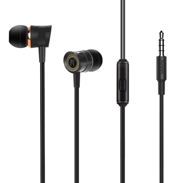 HOCO - M37 STEREO WIRED EARPHONES HANDS FREE BLACK
