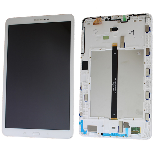 SAMSUNG T580 - LCD + Frame + Touch White Original